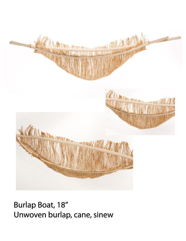 Burlap Boat