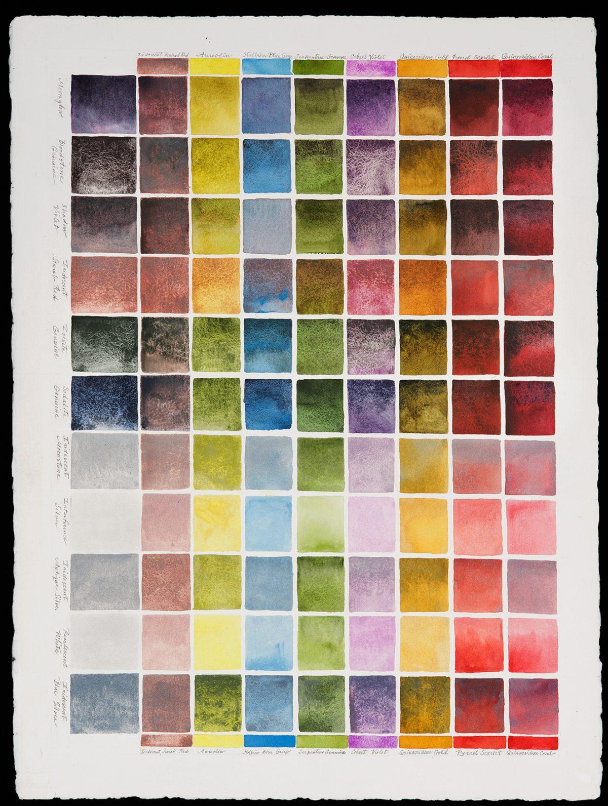 color chart III