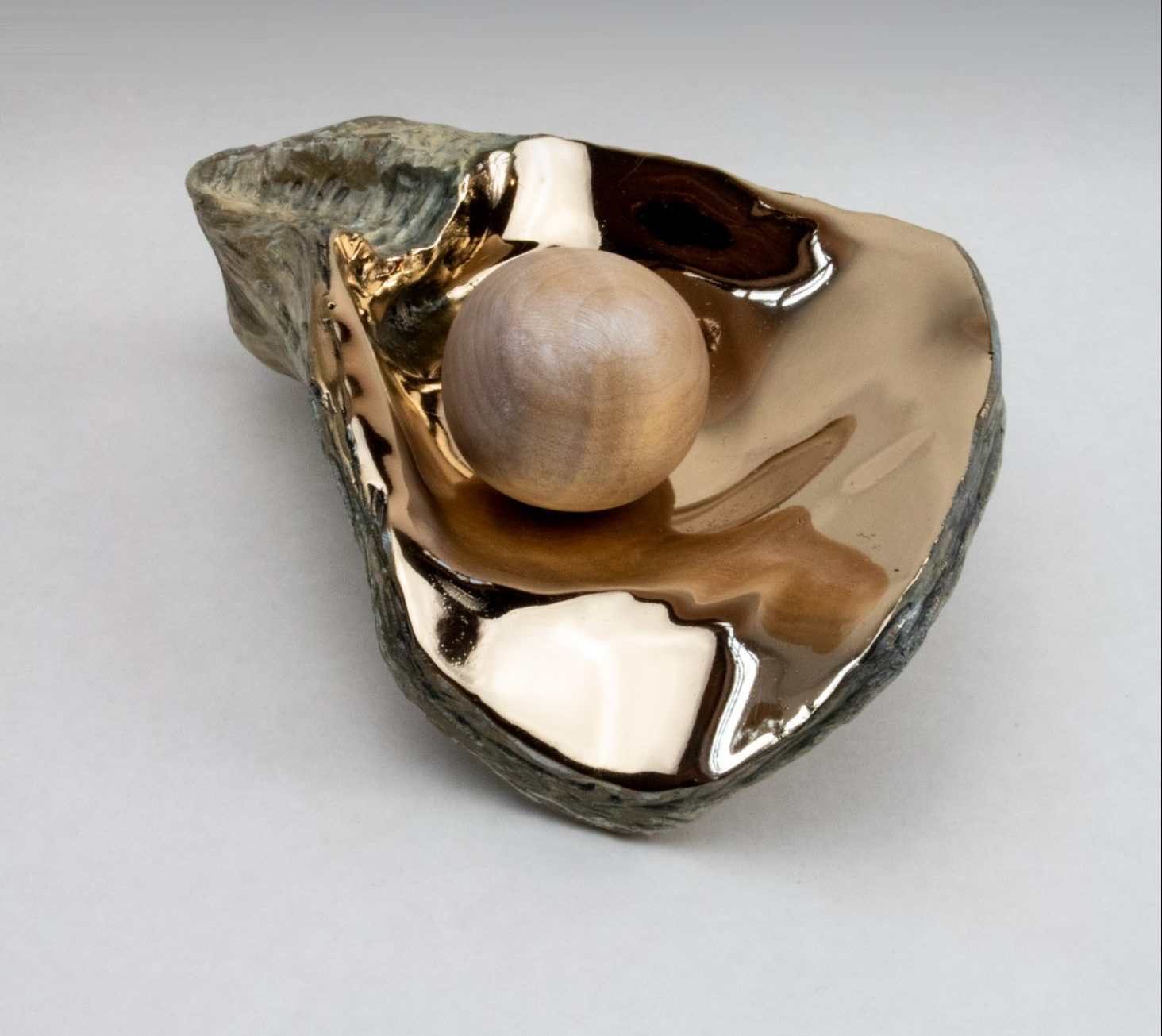 Andrew Vallees Show work  Bronze Oyster e