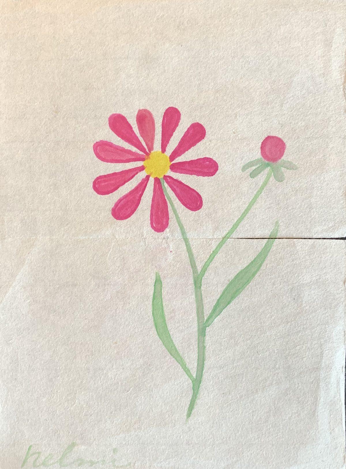 Helmi Pink Flower