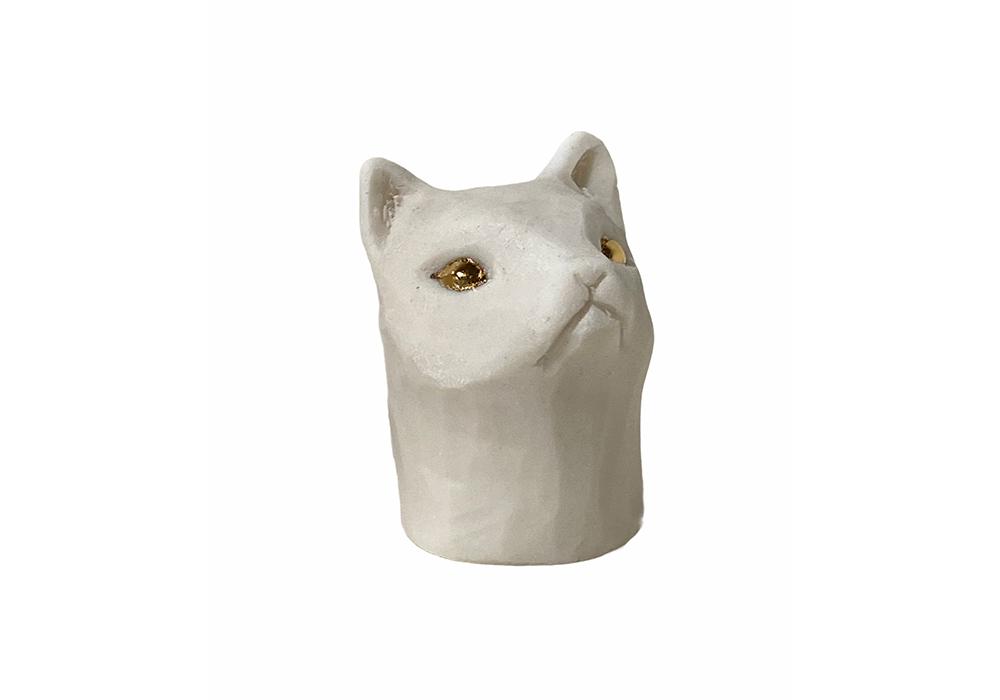 Cat Head (White)
